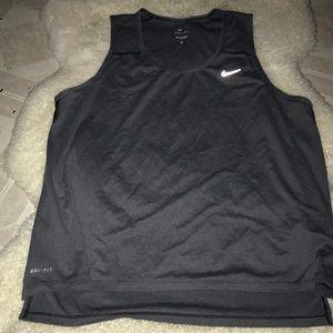 High low Nike tank